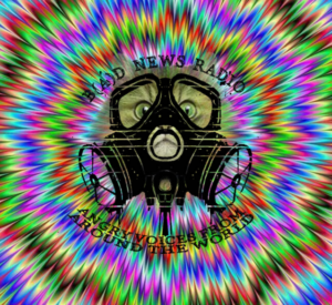 wacky kitty psychadelic gas mask image